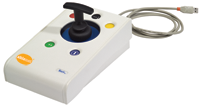 Photo of the Rock Joystick with T-bar attachment.